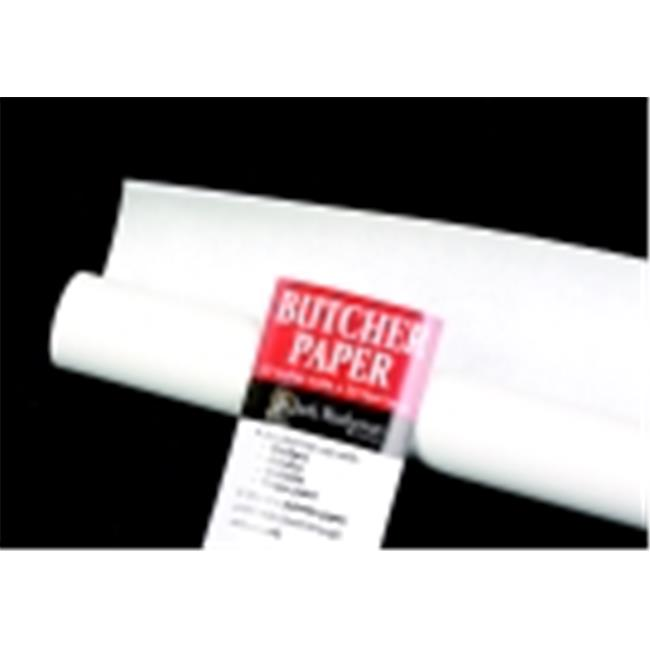 jack richeson 30 in x 50 ft butcher paper roll white