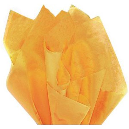 100 Sheets NOBLE GOLD Gift Wrap Pom Pom Tissue Paper