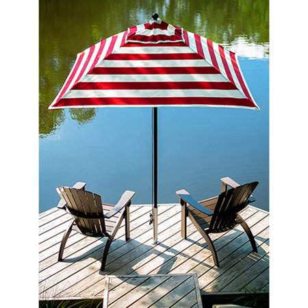 Frankford Umbrellas Monterey Collection 7 5 Ft Striped