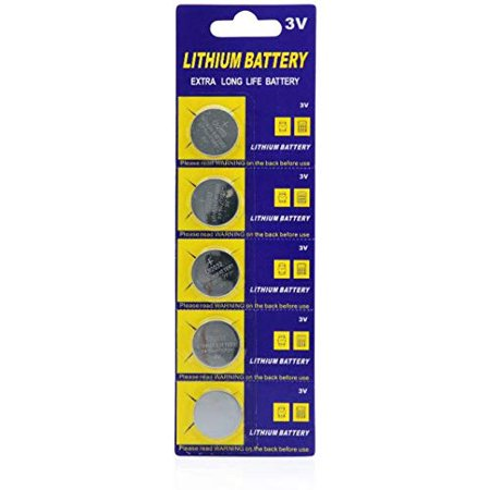 GlowCity Replacement Extra Long Life 3v Lithium ion CR2032 Coin cell Batteries Replacement Coin Cell