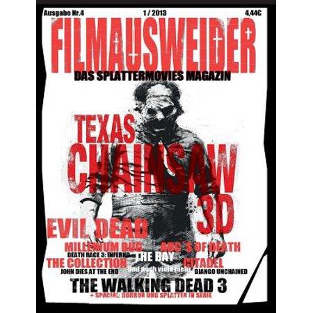 Filmausweider - Das Splattermovies Magazin - Ausgabe 4 - Evil Dead, Texas Chainsaw 3D, the ABCs of Death, the Collection, the Bay, Citadel, the Millen (Schwarz Karen Millen)