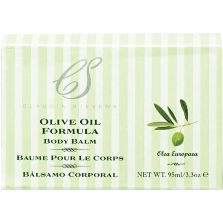 Claudia Stevens Olive Body Balm 3.3 oz. (Pack of 2)