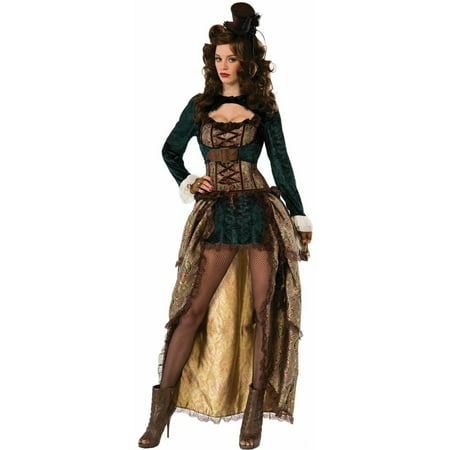 Womens Madame Steampunk Halloween Costume - Steampunk Couple Costumes