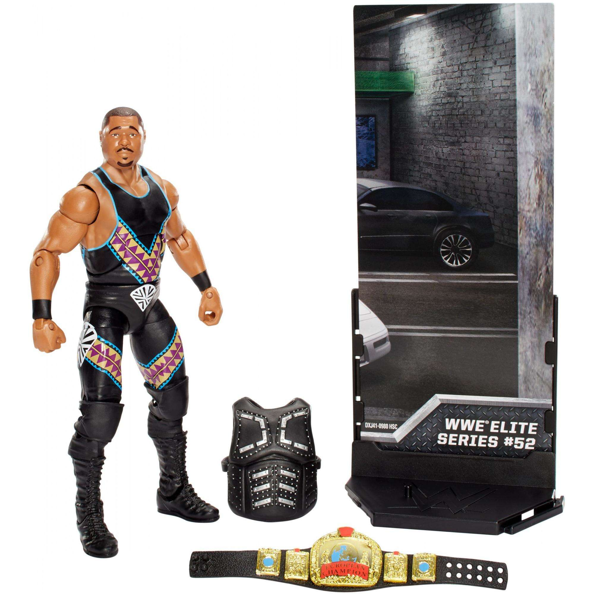 WWE Elite Collection D-Lo Brown Figure