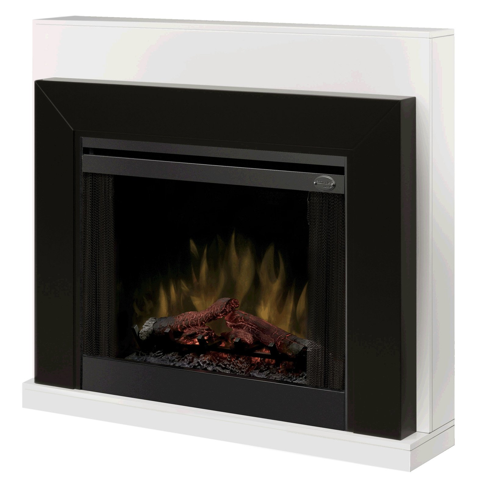 Dimplex White Ebony Electric Fireplace