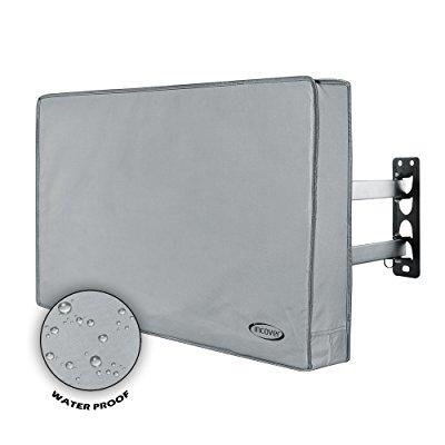 incover 40,42,43 outdoor tv cover - works with flat tv, l...
