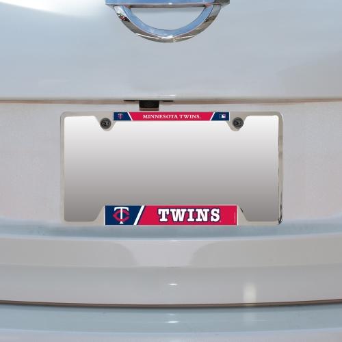 Minnesota Twins WinCraft Metal License Plate Frame - No Size