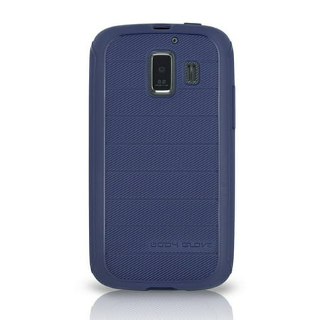 Body Glove Dimensions Antimicrobial Gel Case for AT&T Fusion 2 - Blue