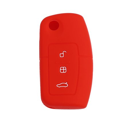 Red 3 Button Car Remote Key Case Holder Shell Cover for Carnival - image 3 of 3
