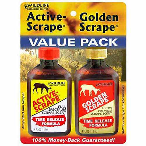 Wildlife Research Center Active Scrape/Golden Scrape Deer Attractant Combo