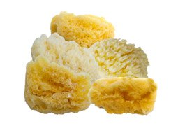 3-1//2 Inch Round Synthetic Silk Sponges  Pack of 10 Sponges
