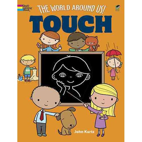 The World Around Us! Touch Coloring Book