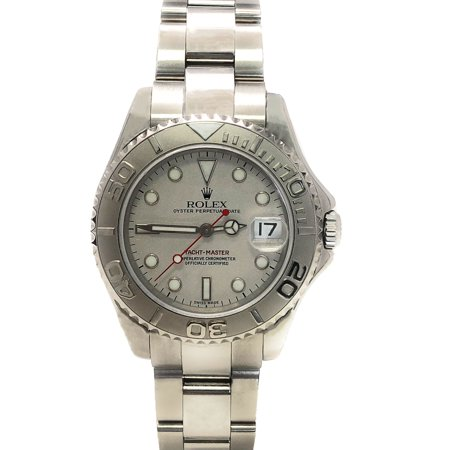 Rolex Yacht-Master 116622 Platinum Luminous dial and Stainless Steel Bidirectional Bezel (Certified -