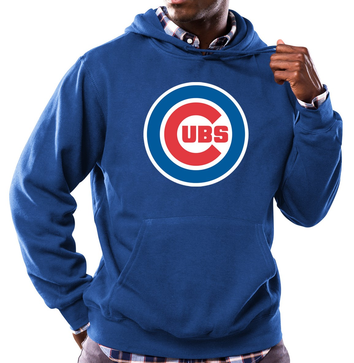 "Chicago Cubs Majestic MLB ""Scoring Position"" Men's Hooded Sweatshirt"