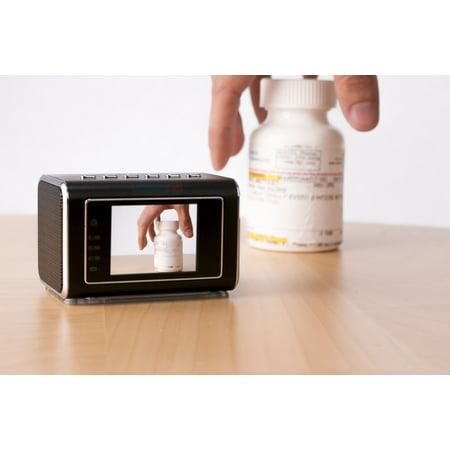 - On The Go w/ Mini Clock Radio Discrete Camera Portable DVR