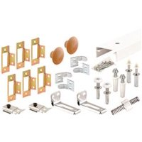 Bi-Fold Door Closet Track Kit, 72 in.