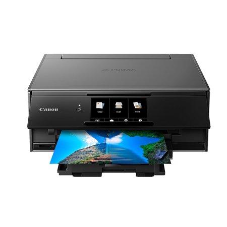 Canon Network Printer Copiers - Canon PIXMA TS9120 Wireless All-in-One Inkjet Printer (Grey)