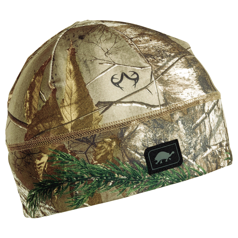 Turtle Fur Hunting Comfort Shell Brain Shroud Lightweight Camo Skull Cap Liner / Beanie