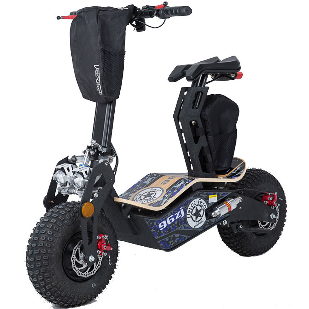 Big MotoTec Mad 1600w 48v Electric Scooter