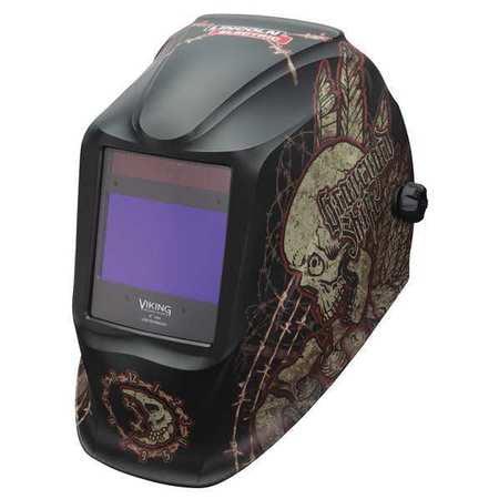 Welding Helmet,Graveyard Shift Graphic LINCOLN ELECTRIC K3099-3