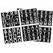 MasterVision CAR0702 1 in. Magnetic Set of Letters, Numbers & Symbols