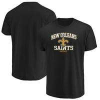 Men's Majestic Black New Orleans Saints Greatness T-Shirt