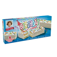Little Debbie Birthday Cakes, 8 ct, 12.39 oz