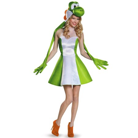 Yoshi Costume For Adults (Yoshi Female Adult Costume)