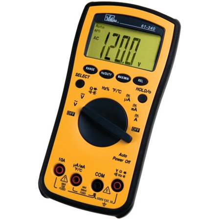 Ideal 61-340 Test-Pro Multimeter Relative Mode Backlight Auto Power Off