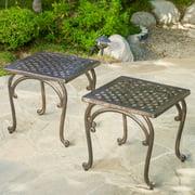 Eliana Outdoor End Table - Set of 2