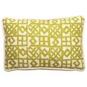 Corona Dcor Corona Decor Lattice Pattern 17 x 11-inch Throw Pillow
