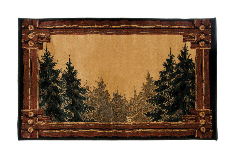 Hearth Rug Hcft Brn By Goods Of The Woods Mfrpartno 11020 by Goods Of The Woods Llc