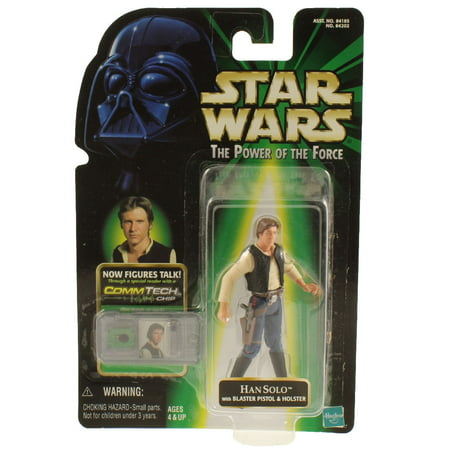 Star Wars - Power of the Force (POTF) - Action Figure - Han Solo (3.75 inch)