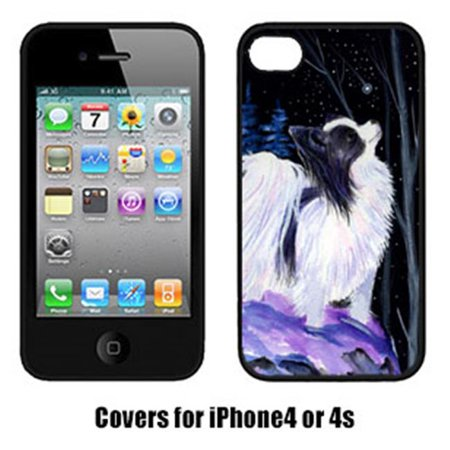Carolines Treasures SS8383IP4 Starry Night Papillon Cell Phone cover IPhone 4 - image 1 de 1