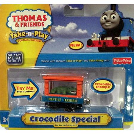 Thomas & Friends Take-n-Play CROCODILE SPECIAL Die-Cast Metal Vehicle Cargo Car
