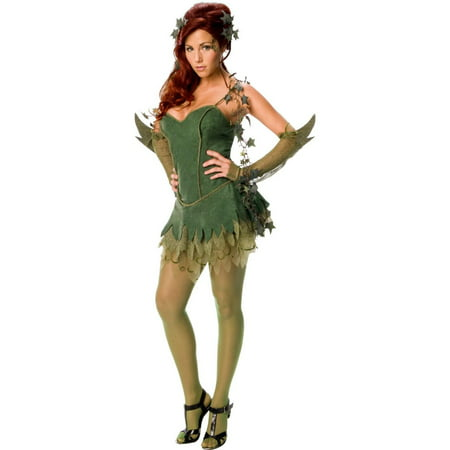 Poison Ivy Adult Costume - Small](Easy Poison Ivy Costume)