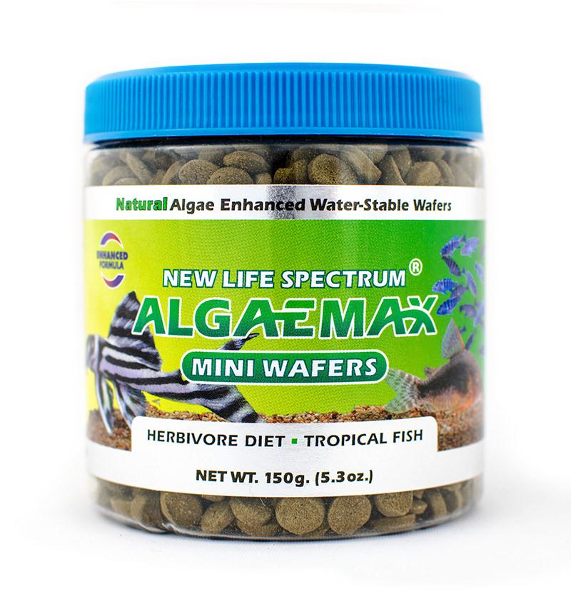 New Life Spectrum AlgaeMax Mini-Wafers for Tropical Fish, 150 g