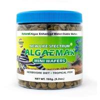 New Life Spectrum AlgaeMax Algae Wafers Fish Food, Mini (7.25-7.75mm)