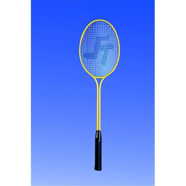 Twin Shaft Steel Badminton Racquet