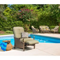 Product Image Hanover Ventura Outdoor Luxury Recliner With Accent Pillow