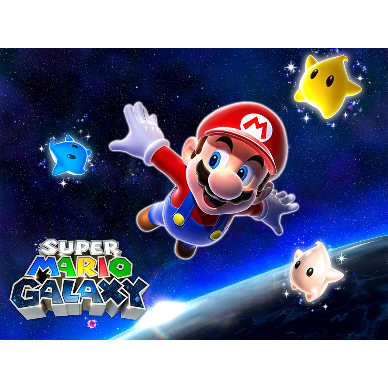 Super Mario Galaxy, Nintendo, WIIU, [Digital Download], 0004549666109