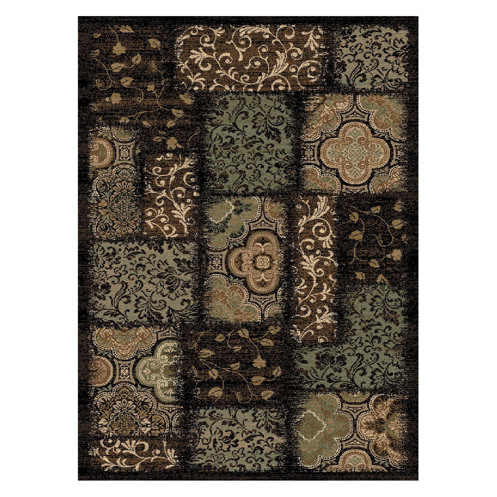 Central Oriental Encore Phineas Area Rug - Dark Wine