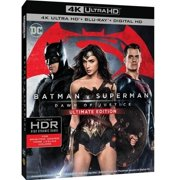 Batman V Superman Dawn Of Justice (Ultimate Edition) (4K UltraHD + Blu-ray + Digital HD With UltraViolet) (With... by