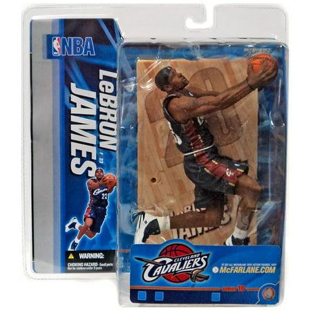 uk availability 277b1 6016c McFarlane NBA Sports Picks Series 10 LeBron James Action Figure [Blue  Jersey]