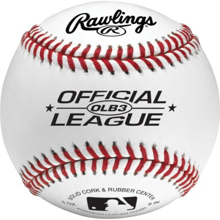 - Rawlings Recreational Use Official League OLB3 Practice Baseballs, 2 Pack