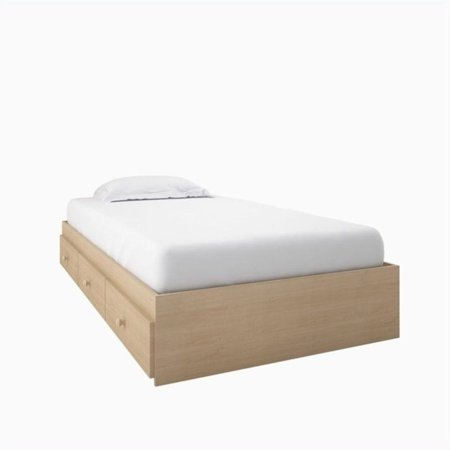 Atlin Designs Twin Captain's Bed in Natural Maple - image 6 de 6