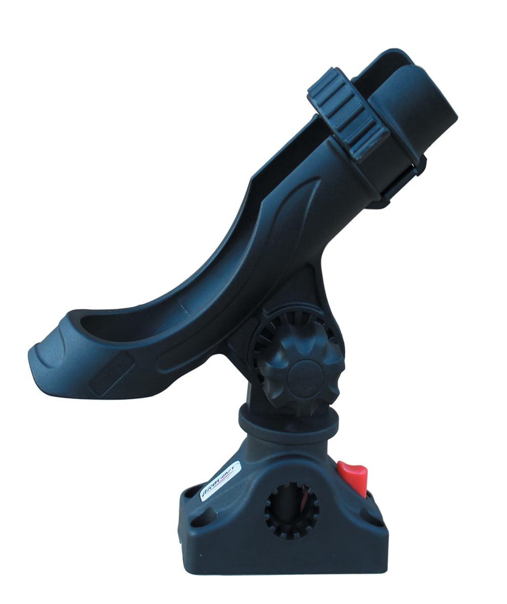BroCraft Boat Rod Holder  kayak Adjustable Swivel Quick Release rod holder by