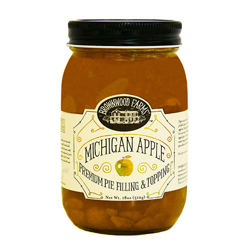 Brownwood Farms Michigan Apple Premium Pie Filling & Topping by
