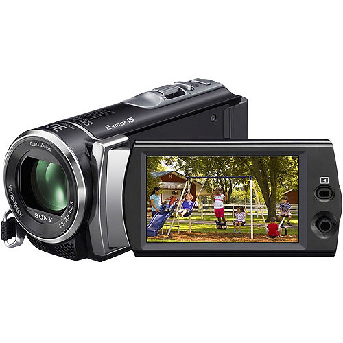 """Sony Handycam HDR-CX190 Flash Memory Camcorder w/ 25x Optical Zoom, 2.7"""" LCD, Image Stabilization"""