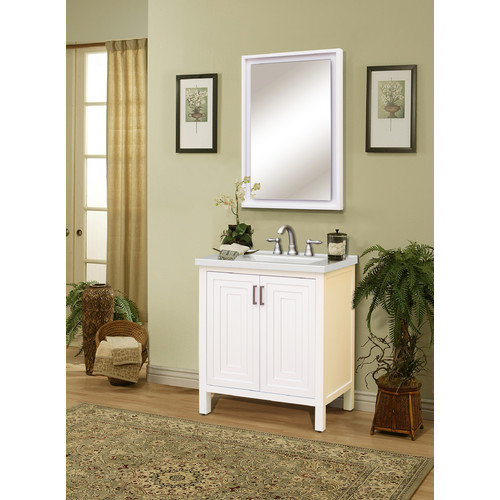 Sunnywood Premier Tops 31'' Bathroom Vanity Top with Integrated Basin